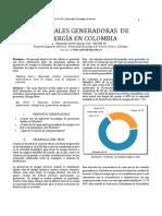 Generadores en Colombia y Excitatriz