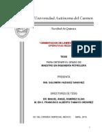 """Tesina """"CEMENTACION DE LINERS EN VENTANAS OPERATIVAS REDUCIDAS"""""""