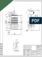 IEC 132M IMB5 Mounting Dimensions