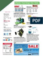 SOS Sales Catalog Spring 2019