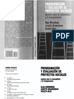 LIBRO - Programación y Evaluación de Programas Sociales COMPLETO