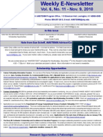 Newsletter 11 9 2010