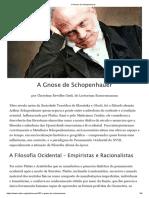 1.a Gnose de Schopenhauer
