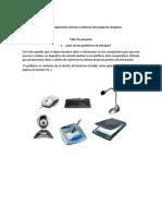 Taller 1Componentes Internos y Externos Del Equipo de Cómputos