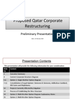Exhibit 9.17 - BHC Scheme - Proposed Qatar Corporate  Restructuring