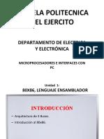 Clases de Microcontroladores - ESPE