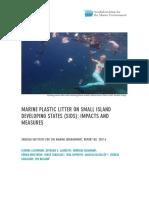 1641336 Sime 2017 4 Marine Plastic Litter