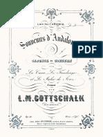 Gottschalk - Souvenirs d'Andalousie
