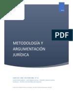 argumentacion y metodologia juridica