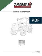 Manual Do Operador Trator Case Ih Magnum 235, 260 ,290, 315 , 340 Cv
