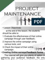 Ict Project Maintenance