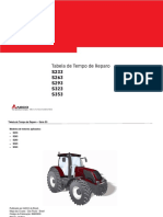 Tabela de Tempo de Reparo Trator Valtra Série S