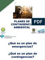 Planes de Contingencia Ambiental