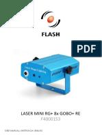 f4000153 Laser Mini Rg 8x Gobo Re