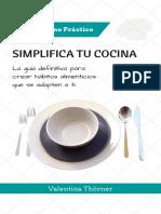 Cocina Minimalista Digital s