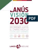 Lanús 2030 Alsina - Bonzi