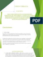 DIMENSION URBANA (Concepto, Caracteristicas, Arquitectos y Obras).