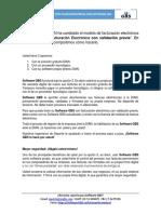 FACTURA ELECTRÓNICA CON VALIDACIÓN PREVIA CON SOFTWARE GBS
