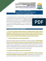 Edital Nº 25.2019 _PPGDR - Abertura Processo Seletivo Aluno Regular de Mestrado 2020 (1)