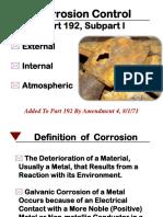 PHMSA Part 192 Corrosion