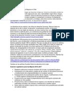 Derechos Humanos de Las Mujeres en Chile