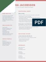 anika jacobsson resume - first draft
