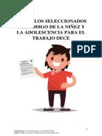 Articulos Seleccionados Del Codigo de La Niñez y La Adolescencia Para El Trabajo Dece
