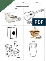 Instrumentos Afro Peruanos