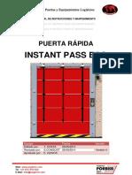 Manual de Instrucciones y Mantenimiento INSTANT PASS ECO V4.0 ES