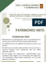 Unidad VIII - Rubro Patrimonio Neto