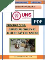 Practica Cristalizacion