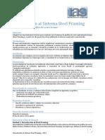 Introduccion Al Sistema Steel Framing