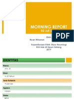 Morning Report Neuro