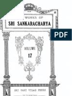 Works of Sri Sankaracharya 17 - Stotras 1
