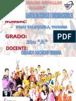 Danzas Nacionales e Internacionales