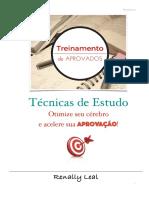 TÉCNICA DE ESTUDOS