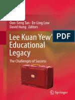 Lee Kuan Yew's Educational Legacy by Oon Seng Tan Ee Ling Low & David Hung.epub