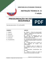 It 10 Pressurizacao de Escada de Seguranca