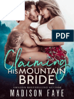 Claiming His Mountain Bride (Blackthorn Mountain Men 1) - Madison Faye
