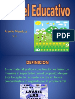 Cartel Educativo. Arselio