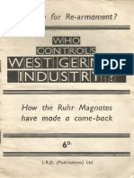 Who Controls West German Industry