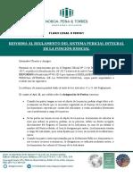 Flash Legal # 00561- Reforma Al Reglamento Del Sistema Pericial Integral de La Funcion Judicial.docx
