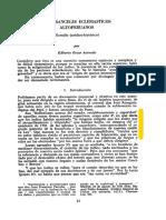 Acevedo, Los Aranceles Eclesiásticos Altoperuanos