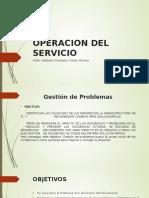 operacion del servicio
