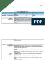 Plan Curricular Anual 2015