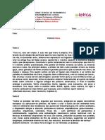 Literatura Brasileira 2 - Final Espelho