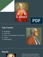 St. Anslem