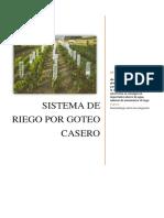 Sistema de Riego Por Goteo Casero - Final