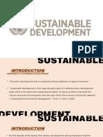 sustainable devt