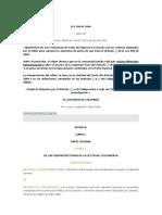 Codigo Penal colombiano